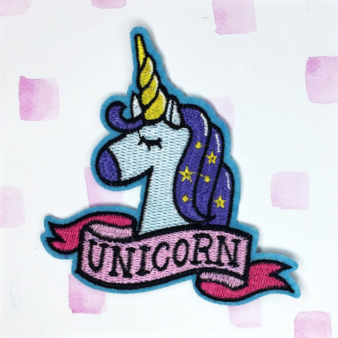 Unicorn Banner Patch