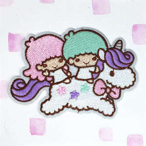 Little Twin Stars Unicorn Patch