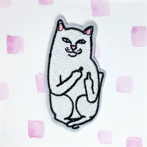 Large Bad Cat Patch
