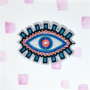 Large Evil Eye Patch