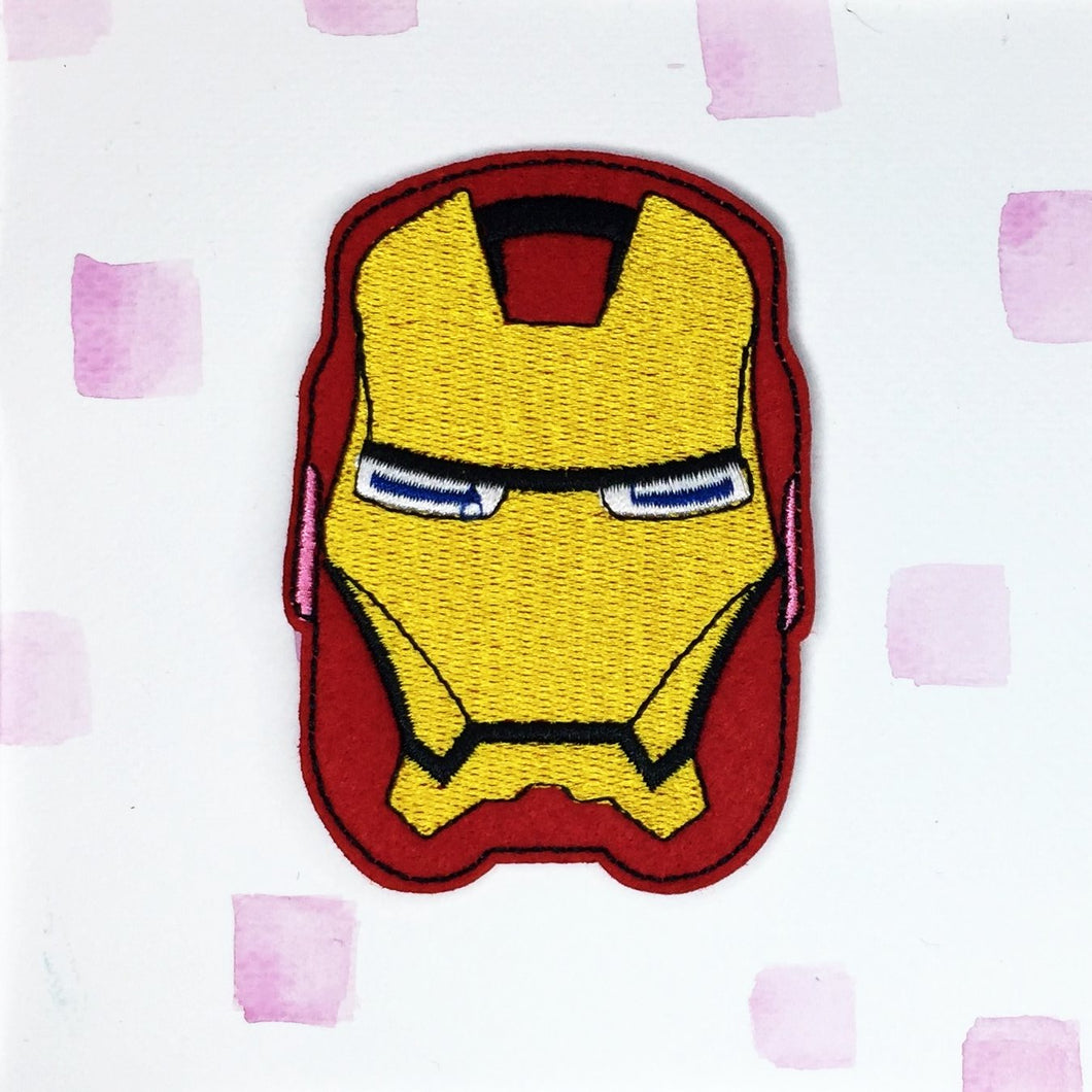Large Iron Man Patch