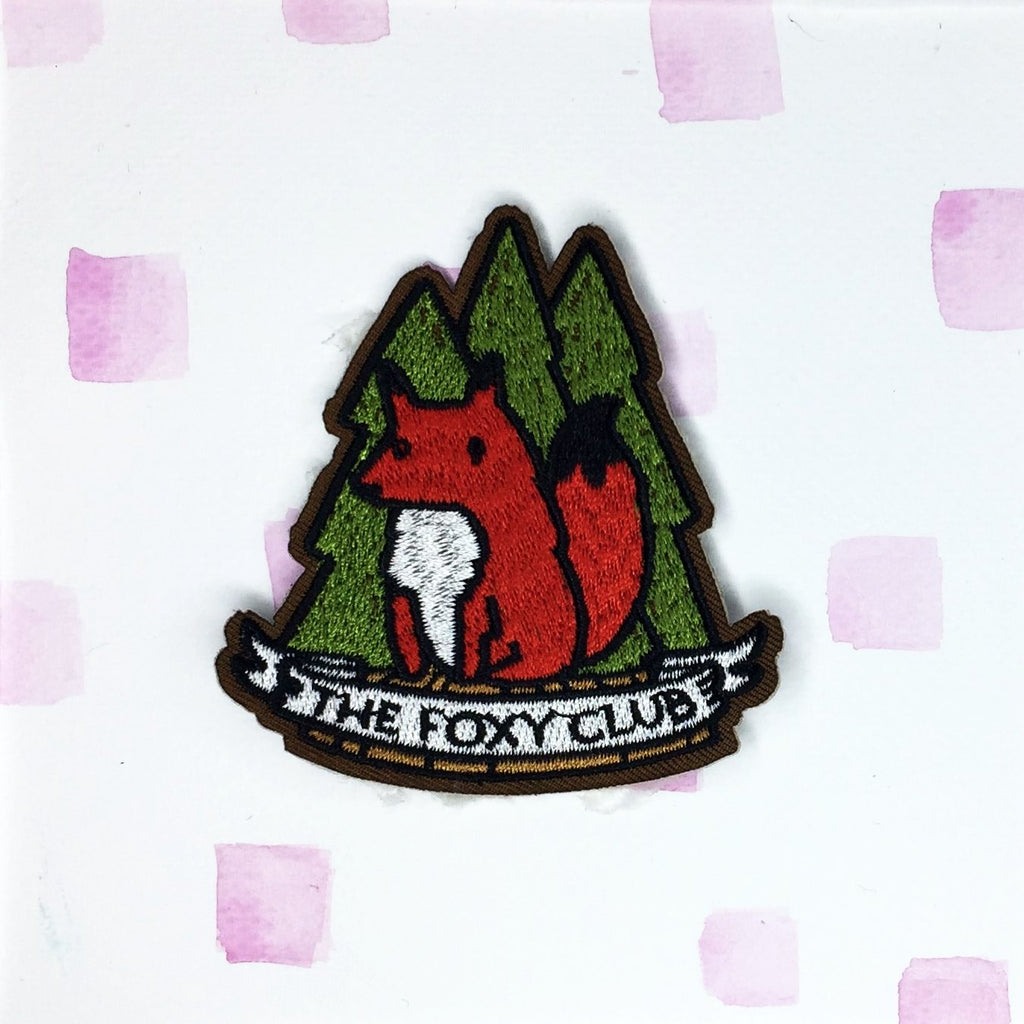 The Foxy Club Patch