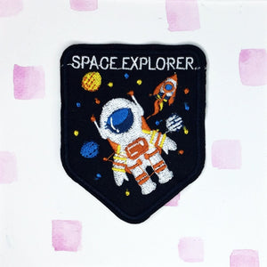 Cute Space Explorer Patch