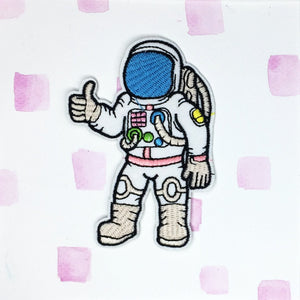 Thumbs Up Astronaut Patch