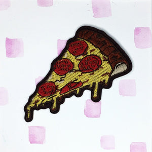Large Pizza Slice Patch