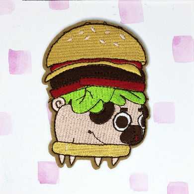 Pug Burger Patch