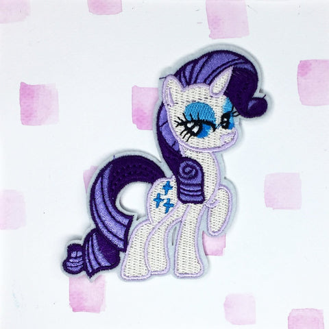 My Little Pony Rarity Patch
