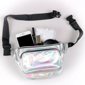 Silver Holo Fanny Pack
