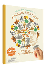 Animals All Around Sticker Kaleidoscopes™ Book