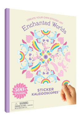 Enchanted Worlds Sticker Kaleidoscopes™ Book