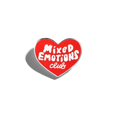 Mixed Emotions Club Pin