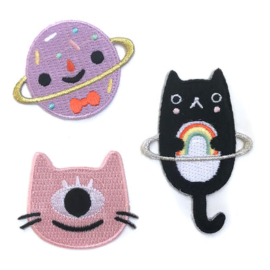 Cosmic Sticker Patch Set