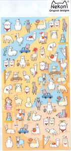 Nekoni Alpacas Sticker Sheet