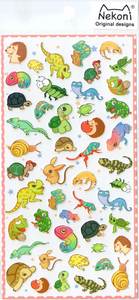 Nekoni Small Animals Sticker Sheet