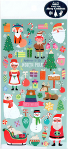 Nekoni Welcome To The North Pole Sticker Sheet