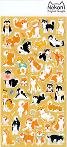 Nekoni Dogs Sticker Sheet