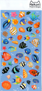 Nekoni Fish Sticker Sheet