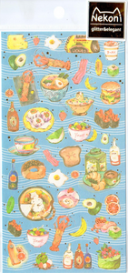 Nekoni Food Sticker Sheet