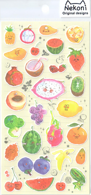 Nekoni Fruits Sticker Sheet