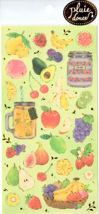 Nekoni Shiny Fruits Sticker Sheet
