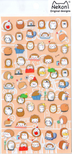 Nekoni Hedgehog Sticker Sheet