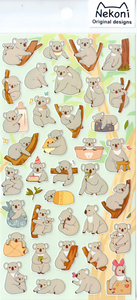 Nekoni Koalas Sticker Sheet