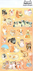 Nekoni Pets Sticker Sheet