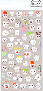 Nekoni Teeth Sticker Sheet