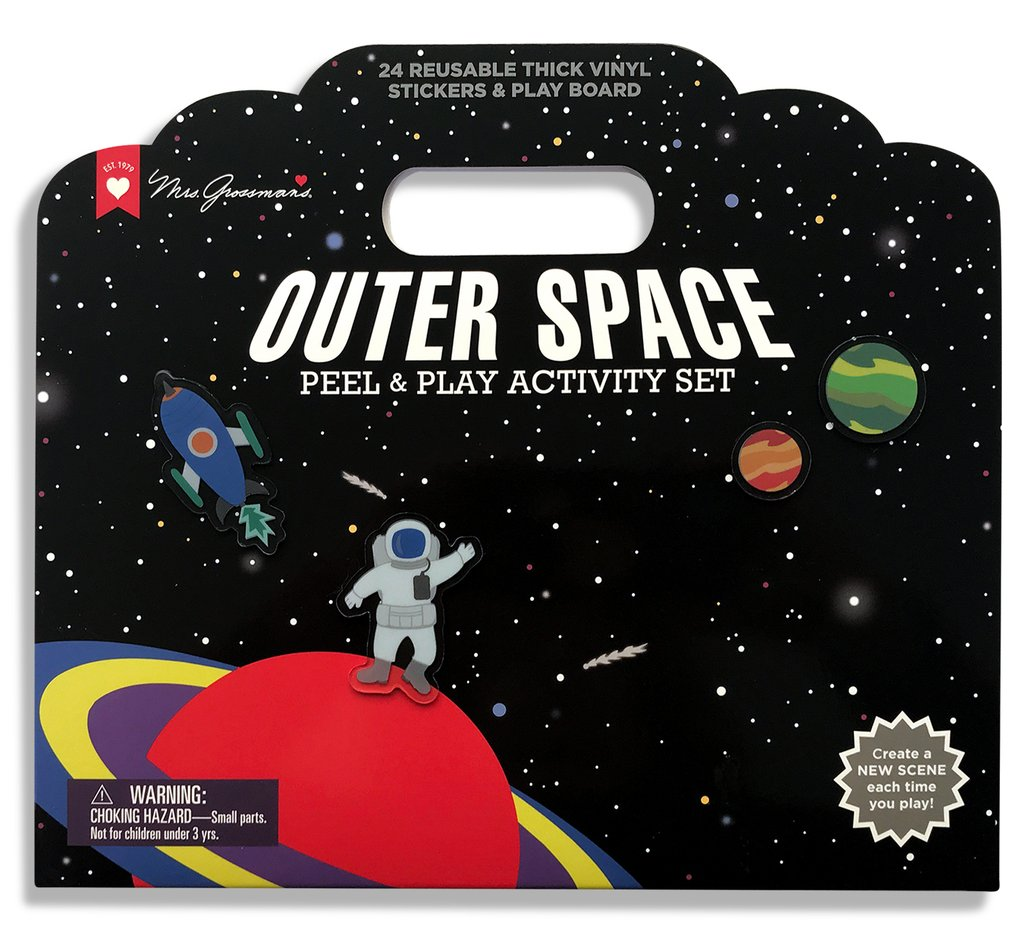 Outer Space Peel & Play Activity Set