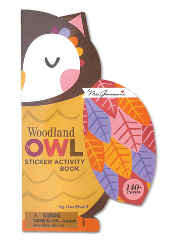 Woodland Owl Sticker Activity Book