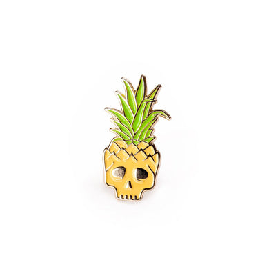 Pineapple Skull Pin