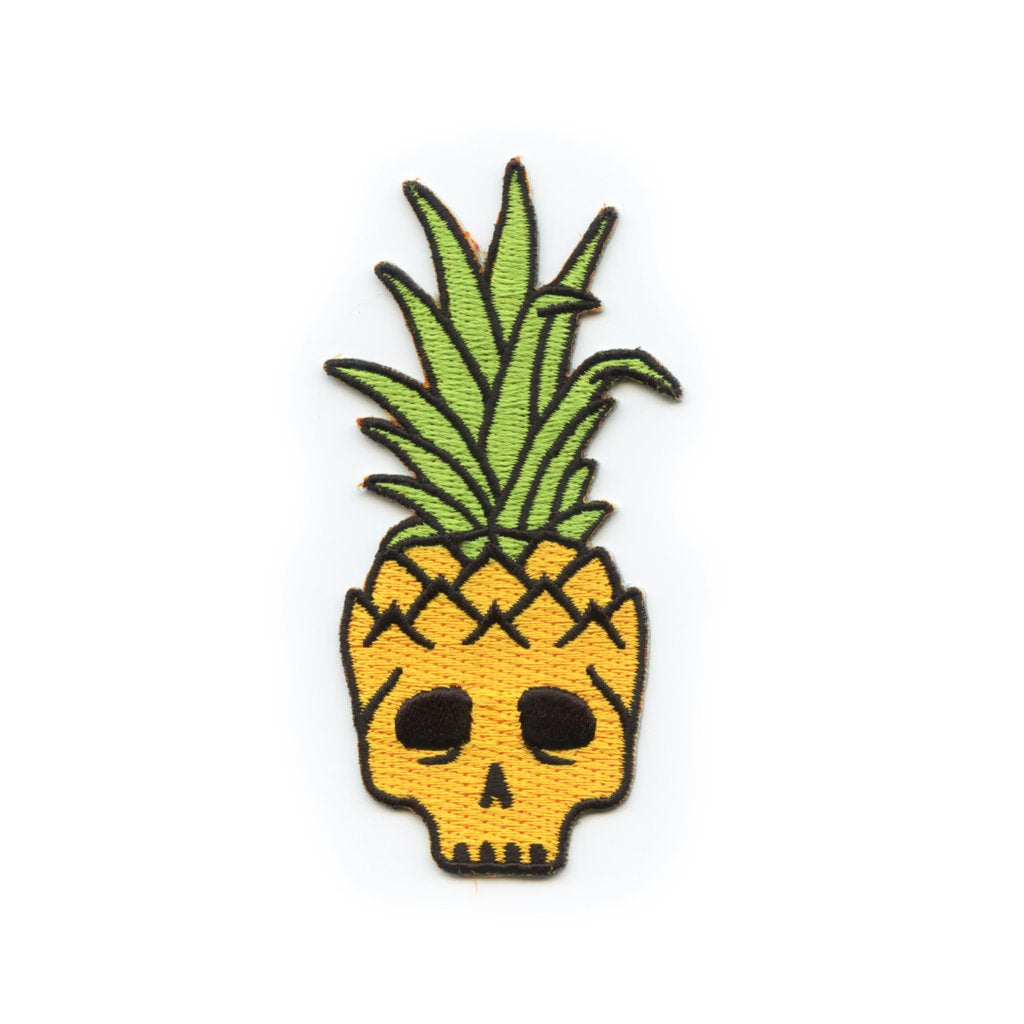 Pineapple Skull Patch
