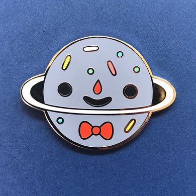 Sprinkle Planet Enamel Pin