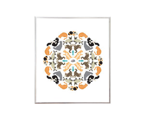 Purr-fect Sticker Kaleidoscope™