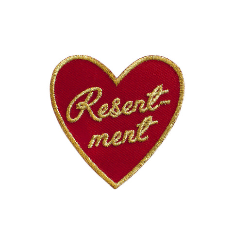 Resentment Heart Patch