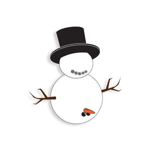 Happy Snowman Pin