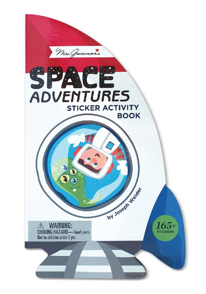 Space Adventure Sticker Activity Book