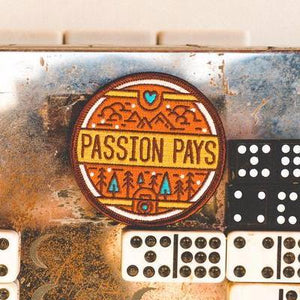 Passion Pays - Photo Multicolor Patch