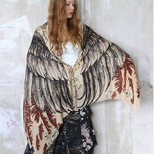 Earthy Wings Scarf