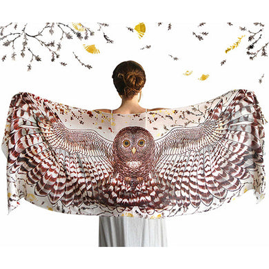 Day Owl Scarf