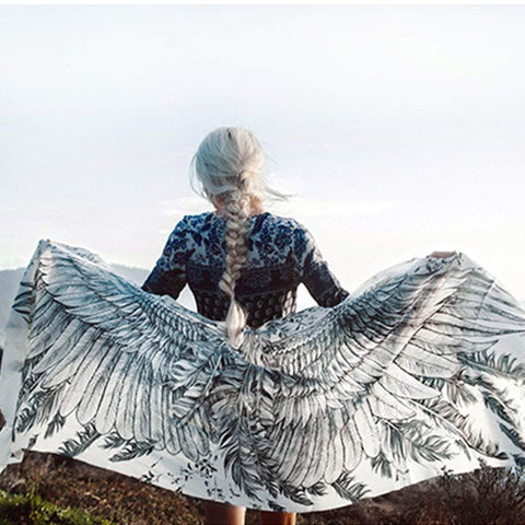 White Wings Scarf