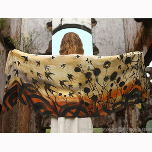 Swallows Scarf