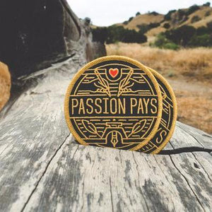 Passion Pays Patch