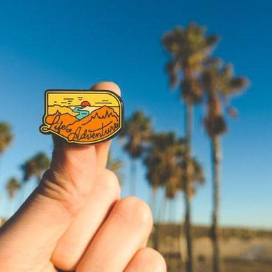 Life of Adventure Pin
