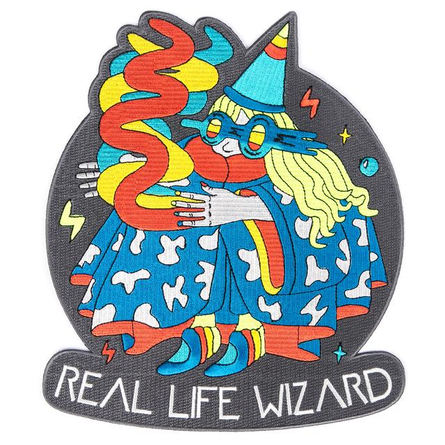 Real Life Wizard Back Patch