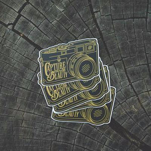 Film Camera Sticker Set #2