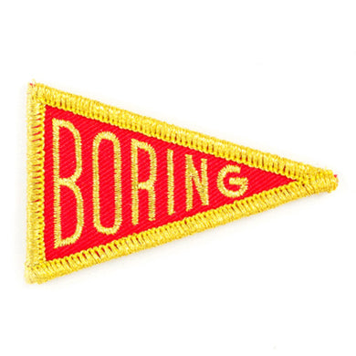 Boring Patch