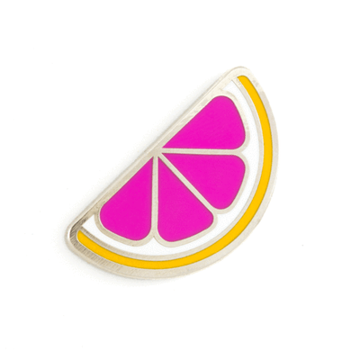 Grapefruit Pin