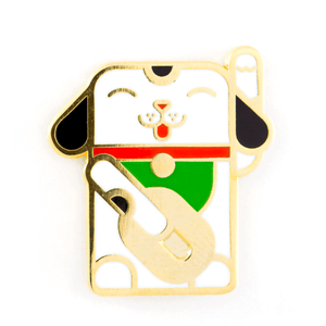 Lucky Dog Pin