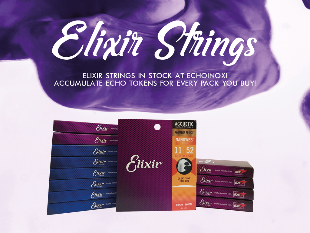 Elixir Strings in Stock at Echoinox